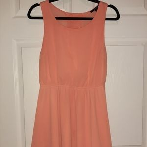 Coral Forever 21 flowy dress
